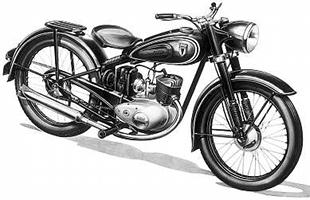 DKW's 125 commuter motorcycle was the template for BSA's Bantam range after the Second World War