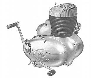 Villiers engine for DMW Corti