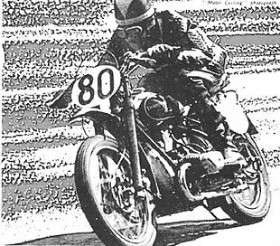 Douglas racing motorcycle