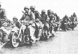 BMW military motorcyc;le