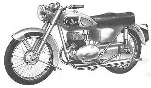 Excelsior Sports Talisman twin model STT5 motorcycle