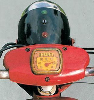 Moto Guzzi Lodola classic Italian motorcycle
