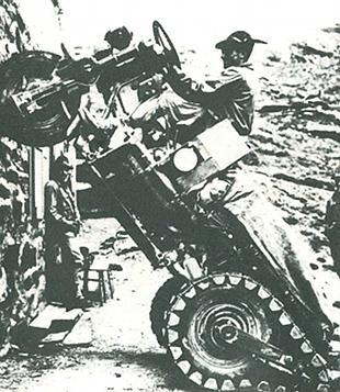 11 Mulo Meccanico military three wheeler