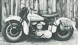 Harley-Davidson classic American motorcycle