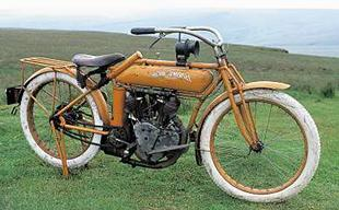 1914 Flying Merkel, American-made classic motorcycle