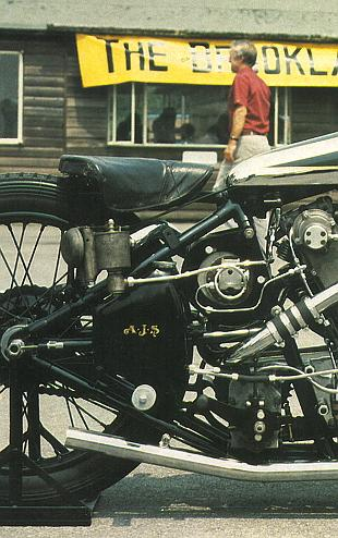AJS 996 v-twin record breaking motorcycle