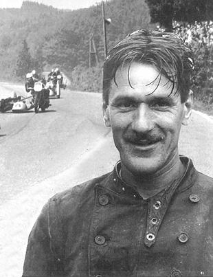 Eric Oliver motorcycle sidecar champion