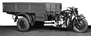 Gilera Mercurio classic commercial three wheeler