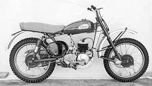 1955 Greeves offroader classic motorcycle