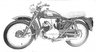 Greeves model 25R 242cc classic British motorcycle