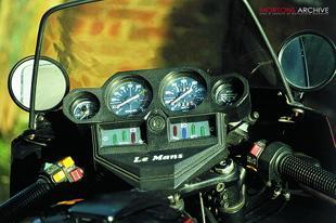 Moto Guzzi classic Italian motorcycle