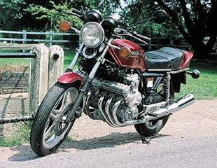 Six cylinder Honda CBX classic superbike was a technical masterpiece