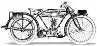 Hoskinson lightweight motorcycle, fitted with a Union engine