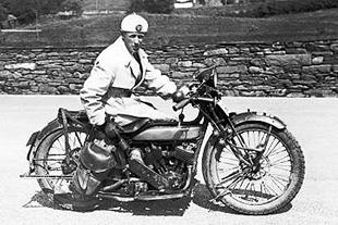 1927 Husqvarna v-twin roadster classic motorcycle