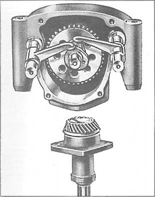 Humber bevel drive motorcycle engine
