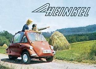 Heinkel 'bubble car' promotional brochure