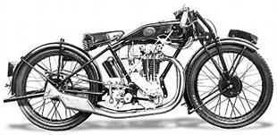 British made Henly classic motorcycle from the 1920s