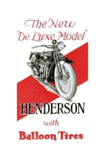 Henderson motorcycle advertisement from 1914
