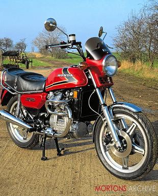 Honda CX500 motorcycle