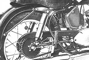 Model S plunger Indian motorcycle