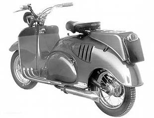 Iso Diva classic scooter was introduced in 1957