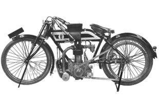 Although best known for their engines, JAP made motorcycles, too, in the early part of the 20th century