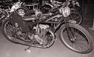 JAP speedway bike and engine