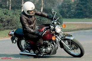 Honda CB400/4 road test