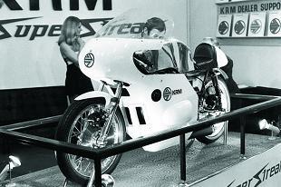 KRM Superstreak racing motorcycle