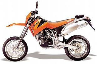 KTM continue to make motorcycles with an off road bias.