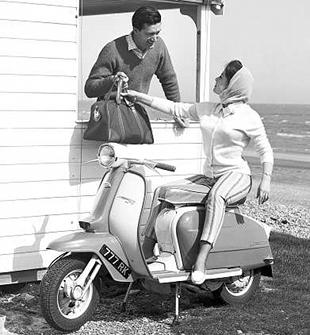 1963 Mk3 TV175 classic Lambretta scooter