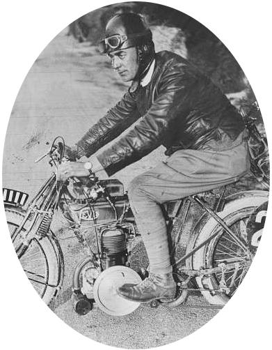 RO Clark was a successfulcompetitor onm classic Levis two stroke motorcycles, including the 250cc cup in the 1920 TT