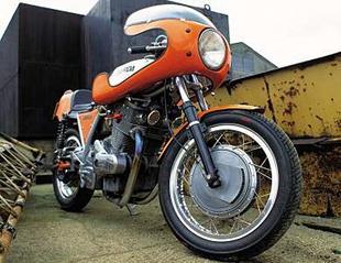 Laverda SFC replica. The classic Italian superbike
