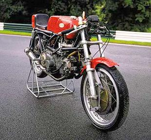 Linto 500cc Aermacchi-engined classic racing motorcycle