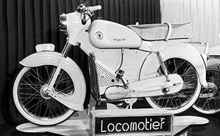 Sachs-engined Dutch-made Locomotief classic motorcycle