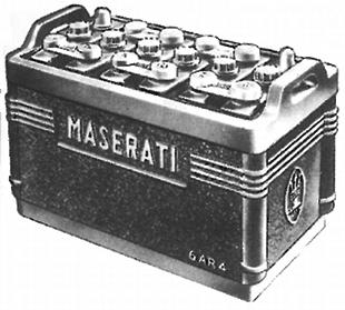 Maserati battery