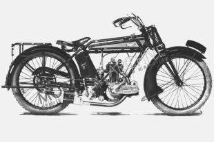BNlackburne-engined Matador classic motorcycle