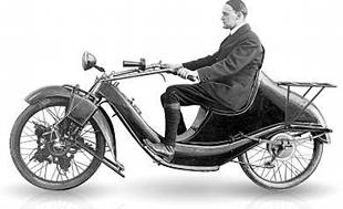 German-,ade Megola motorcycles were unconventional but very effective and sought after