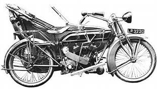 Matchless Model H outfit was introduced in 1919 and featured advanced features like a swinging arm frame