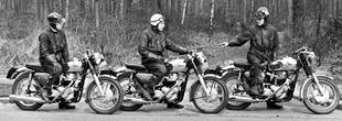 1965 road test with a trio of Matchless G15CSRs
