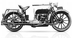 American-made Militaire classic motorcycle had a four cylinder engine and shaft drive