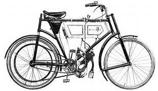 1904 Minerva classic motorcycle