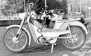 Mobylette moped was made in 1977