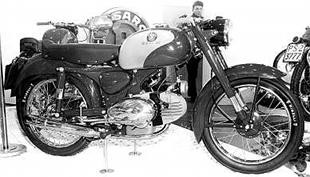 Motobi 55 motorcycle design was influenced by Giuseppe Benelli