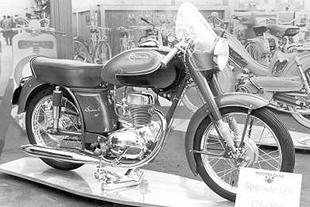 1957 125cc ohv Motobecane Speciale classic motorcycle