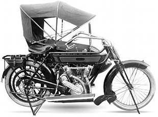IOE (inlet over exhaust) valve Motosacoche v twin classic motorcycle