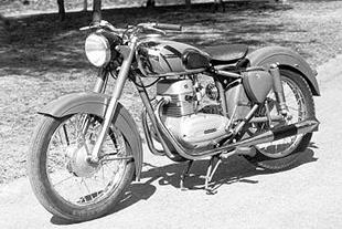 1953 ohc Opti-engined Motosacoche classic motorcycle