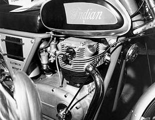 Early Munch motorcycle projects included Horex-engined machine, some of which were badged as Indians in a collaboration with American Floyd Clymer
