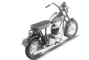 Mustang Thoroughbred motorcycle model of 1960 was the last design and the flagship of the line