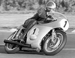 Giacomo Agostini became synonymous with MV Agusta. Here he's in action during 1970